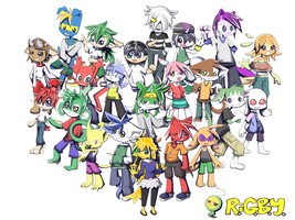 RiGBY Characters 2 by lmrl12