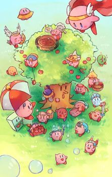 25 years of Kirby by anocurry