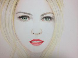 Anna sophia robb - colored by Misakie