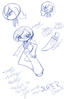 PSG OC: Armband Sketches by Natsumi-chan0wolf
