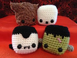 Halloween Bop Heads by Brookette