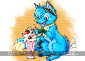 Bluekoinu Milkshake by bluekoinu
