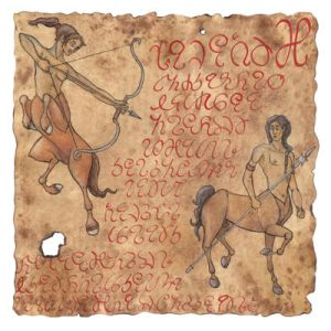 Centaurs on Parchment