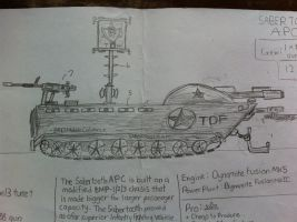 Sabertooth S2A Infantry Fighting Vehicle by Target21