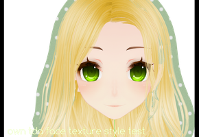 Own TDA FACE TEXTURE Style TEST! by iinoone