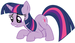Twilight is worried Vector by Kooner-cz