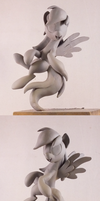 Derpy - sculpt spin. by frozenpyro71