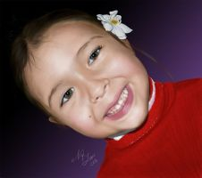 Leticia Speed Painting by teoclyts