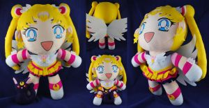 Giant Eternal Sailor Moon Plush by sakkysa