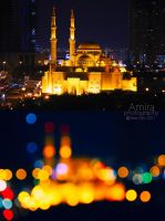 Sharjah Corniche mosque by amirajuli