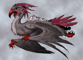Avian Monster by AcaciaTree