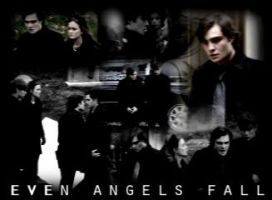 Even Angels Fall Chuck Bass by KissingButterfly