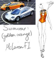 (Golden Orange) McLaren F1 by GL-Gloria