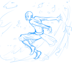 Aang-FireDeflectionTraining by Deathcomes4u