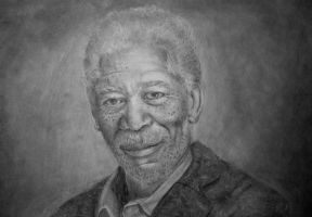 Morgan Freeman by TightGrasp