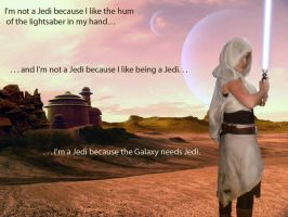 The Galaxy needs Jedi by FrannyBunny
