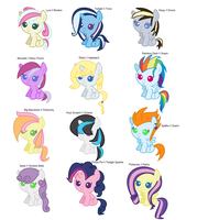 MLP Shipping Adopts by CaptainPasta