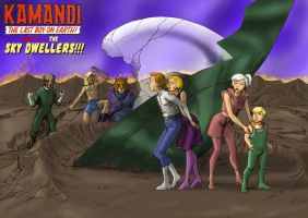 TLIID - Cartoons - Kamandi and the Sky Dwellers by Nick-Perks
