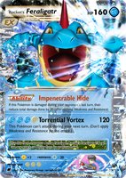 Rocket's Feraligatr EX by aschefield101
