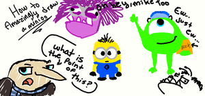 Despicable Me Stuffffffff by GhostRiderWolf