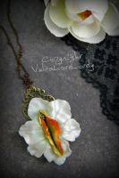 Narcissus: Vulva Necklace by VulvaLoveLovely