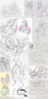 Sketches.Mixed 12 by Deygira-Blood