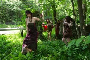 Lost in The Woods Photo Shoot by Gibmee