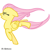 Against the wind fluttershy by SirSpikensons