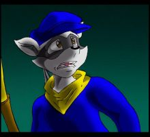Sad Sly Cooper. by Virus-20