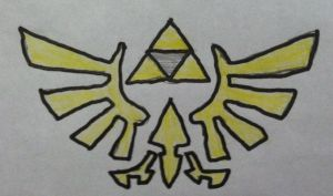 The Triforce by Konggers