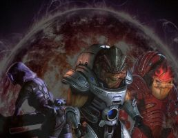 mass effect 1-2 by gaara171