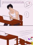 Ask Gohan and Videl - College by MissKisa