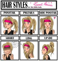 Hair Styles Meme by SavanasArt
