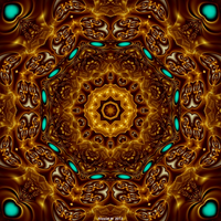 Hypnotic Kaleidoscope by fraxialmadness3