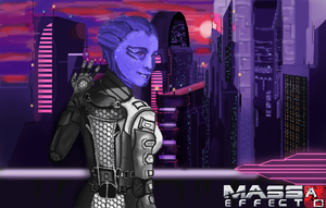Mass Effect - Alpha and Omega: A'isha by metal1718