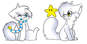 .: comet and star :. gift by aurothekitty