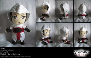 Plushie: Altair - AC by Serenity-Sama