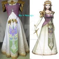 Princess Zelda TP full costume by Narayu-Crea