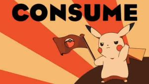Consume pikachu by Serpent1212