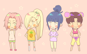 Kunoichi Jammies by umekari