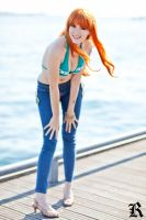 One Piece Cosplay - Time Skip Nami 3 by notomorrowgirls