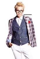 PNG : G-Dragon by chazzief