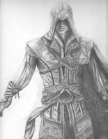 Ezio Assassin's Creed by AnntwanetteMarie