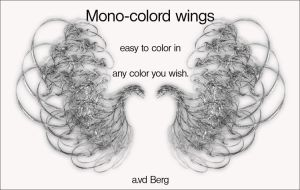 monocolored wings by priesteres-stock