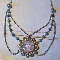 Art nouveau necklace by skuggsida