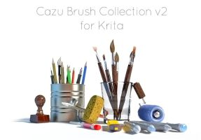 Blender Icons for Cazu Brush Krita by davicazu