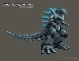 Mecha Godzilla Individual Layouts - OG by NoBackstreetboys