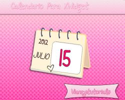 Cute Calendar For XWidget by Vianeytutorials