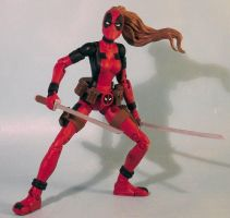 Lady Deadpool by Discogod