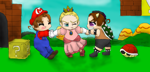 mario vs bowser by tttooohappy